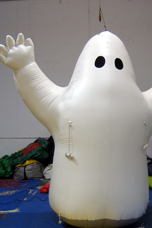 Cold Air Inflatables Halloween 10' Ghost Giant Balloon
