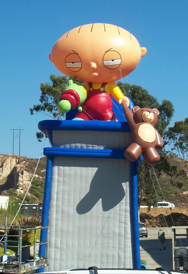 Call From A Different Number >> Inflatable Balloons | 40' Stewie Giant Balloon