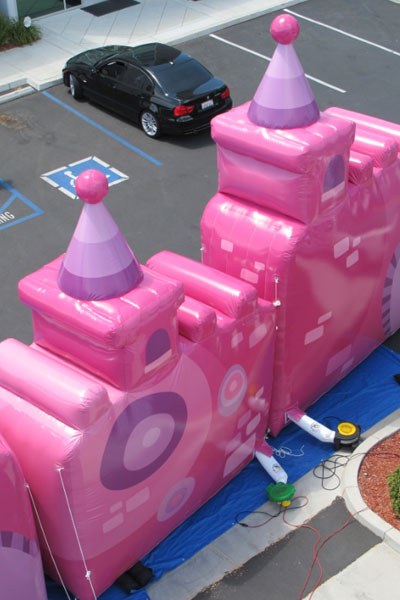 Princess Castle Custom Balloons