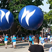 Helium Spheres Helium Advertising Balloons