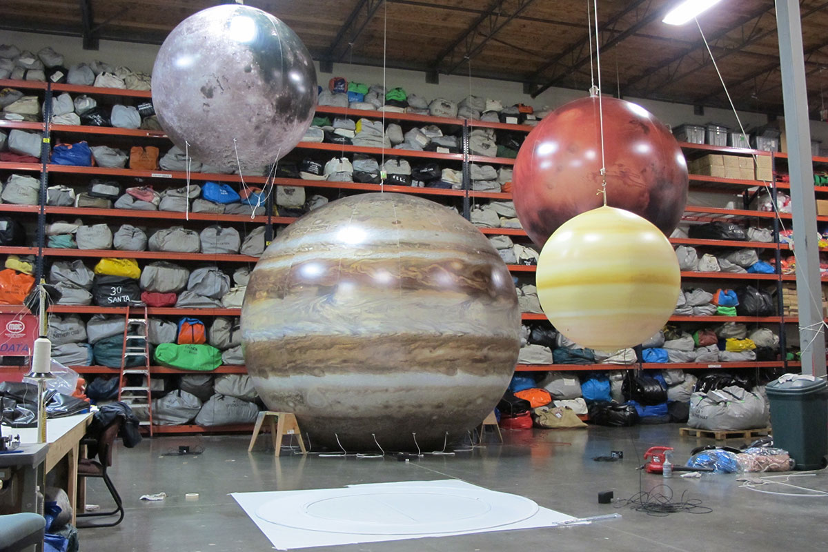 gigantic inflatable planets - photo #12
