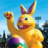 Giant Sale Advertising Balloon Easter Bunny